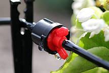 Капельница садовая Presto-PS регулируемая проходная, в упаковке - 10 шт. (7707), фото 3