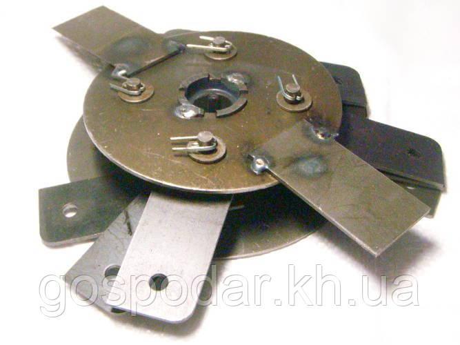 Ротор в сборе с бичами на крупорушку 'Эликор-1' исполнение 3.