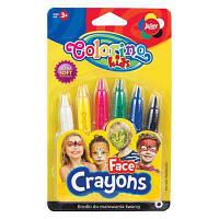 Фарби для обличчя Colorino 6 кольорів (32629PTR)