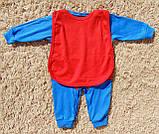 Детский человечек СУПЕРМЭН из интерлока, фото 4