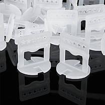 2mm 100PCS Clips Плитка Система выравнивания Плитка Распорки Clips Напольная плитка для пола Инструмент White - 1TopShop, фото 2