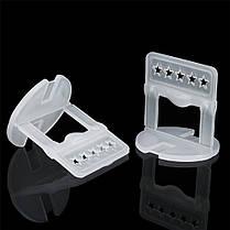 2mm 100PCS Clips Плитка Система выравнивания Плитка Распорки Clips Напольная плитка для пола Инструмент White - 1TopShop, фото 3