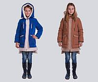 Зимняя модная парка Алиса на девочку 128-158 р разные цвета, фото 1