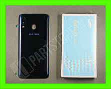 Cервисная оригинальная задняя Крышка Samsung A205 Blue A20 2019 (GH82-19423B)