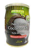 Масло кокоса холодного отжима Hemani Сoconut oil  400 грамм