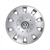 """Колпаки для колес 15"""" c логотипом автомобиля 4 шт (SKS 304) VolksWagen"""