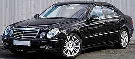 Ветровики, дефлекторы окон Mercedes Benz E-klasse Sedan (W211) 2002-2009 'Cobra tuning'