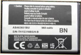 Аккумулятор для Samsung S5550, S5560, S5600, S5620, S7070, S7220, C3330, C3312, S5610, E2222 оригинальный, батарея AB463651BU , фото 2