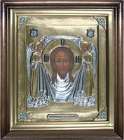 Икона Спас Нерукотворный с Ангелами