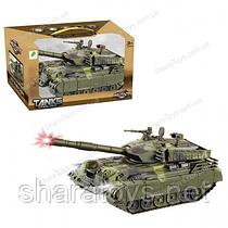 Игрушка танк на батарейках