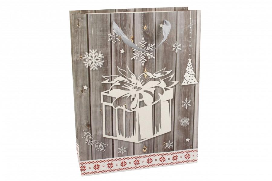Новогодний подарочный пакет 3-8719-516