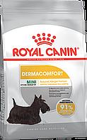 Royal Canin Mini Dermacomfort 1 кг для маленьких пород с раздражением кожи, фото 1