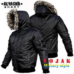 "Куртка зимняя ""ALYSKA SHORT"" BLACK"