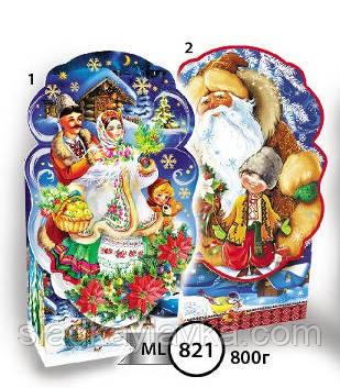 Коробка Коробка Дед Мороз код 821
