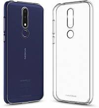Чехол накладка силиконовый MakeFuture Air для Nokia 3.1 Plus прозрачный
