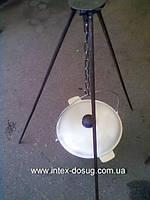 Тренога костровая стальная прут 1м    bbk 01
