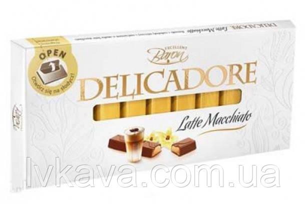 Молочный шоколад Delicadore Latte Macchiato ,200 гр, фото 2