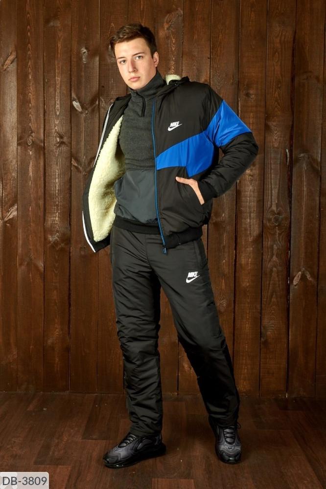 Мужской лыжный костюм спортивный теплый на овчине размеры 46 48 50 52 54 Новинка есть цвета