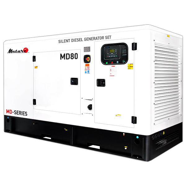 Трехфазный дизельный генератор MATARI MD80 (88 кВт)