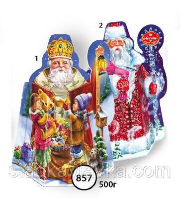 Коробка Коробка Дід Мороз код 857