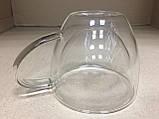 Чашка стеклянная с двойными стенками  200 мл., фото 6
