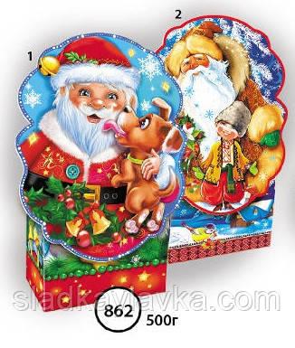 Коробка Коробка Дед Мороз код 862