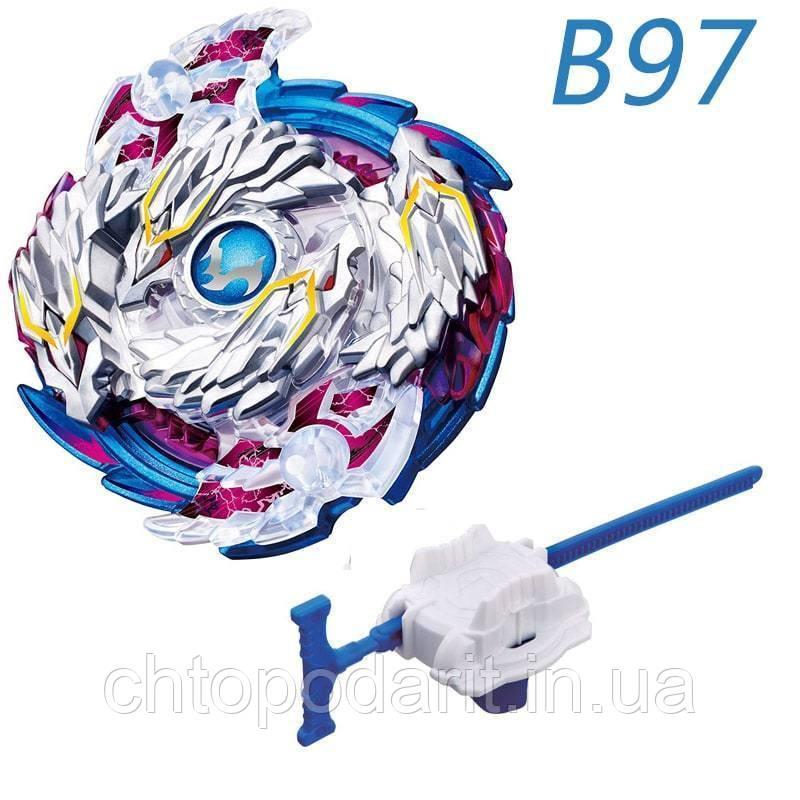 Бейблейд Волчок Nightmare Longinus B97 с пусковым устройством Код 10-0393