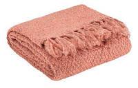 Плед LINNEA 130x180см рожевий 4524816