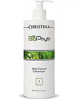 Мягкий очищающий гель Christina Bio Phyto Mild Facial Cleanser 500 мл