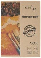 Папка для акварели Platinum А4, 220г/м2, 20л, SMILTAINIS