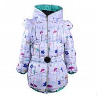 Оригинальная куртка-жилетка на девочку