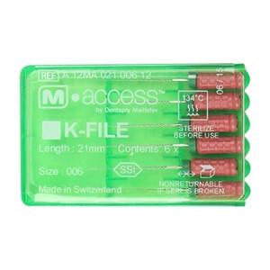 K-File m-access #006 (6шт, 25мм) Dentsply Maillefer