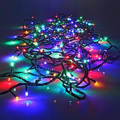 Светодиодная гирлянда нить Светодиодная гирлянда нить100 led RG100 led RGB 8 режимов  9 метров