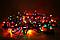Светодиодная гирлянда нить Светодиодная гирлянда нить100 led RG100 led RGB 8 режимов  9 метров, фото 2