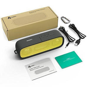Портативная bluetooth MP3 колонка Aukey SK-M7 Черная