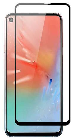 Защитное стекло NZY для Samsung Galaxy A60 / M40 5D Premium Full Glue Черные рамки (001573), фото 2