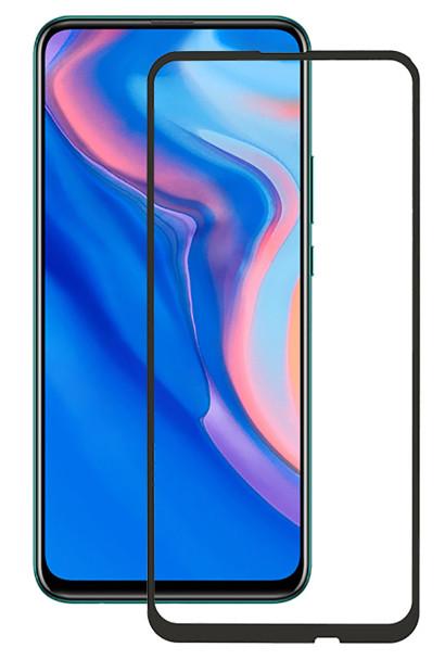 Захисне скло NZY для Huawei Honor 9X 5D Чорні рамки (001696)