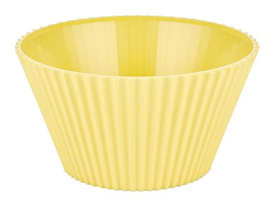 Салатник круглый BAGER 20.5 см Желтый (BG-440 Y)