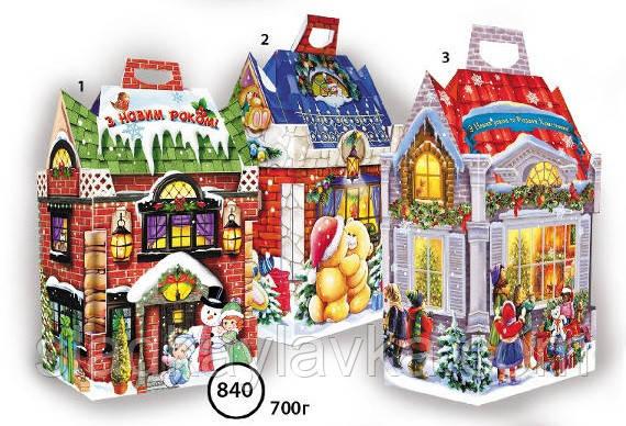 Коробка Домик с крышей код 840