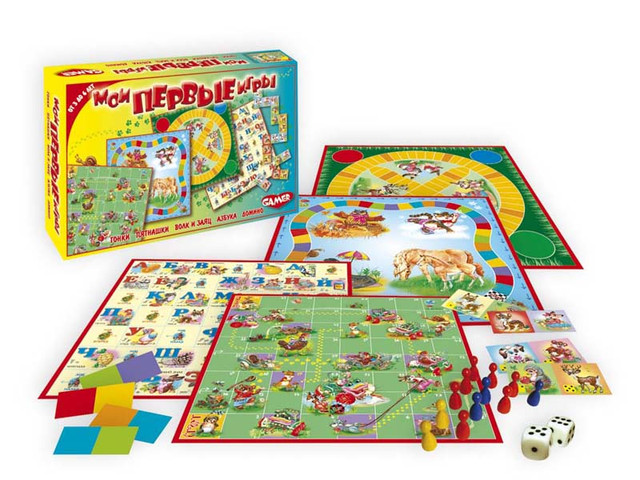 Конструкторы, головоломки, настольные игры и наборы для творчества