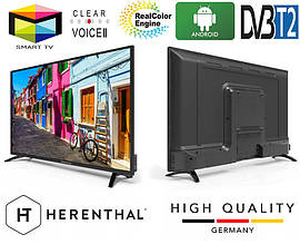 Телевизор Herenthal led smart tv 43""