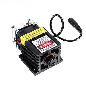 LA03-5500 5500 МВт 445 нм Синий Лазер Модуль C Радиатор для машины EleksMaker DIY Гравер-1TopShop