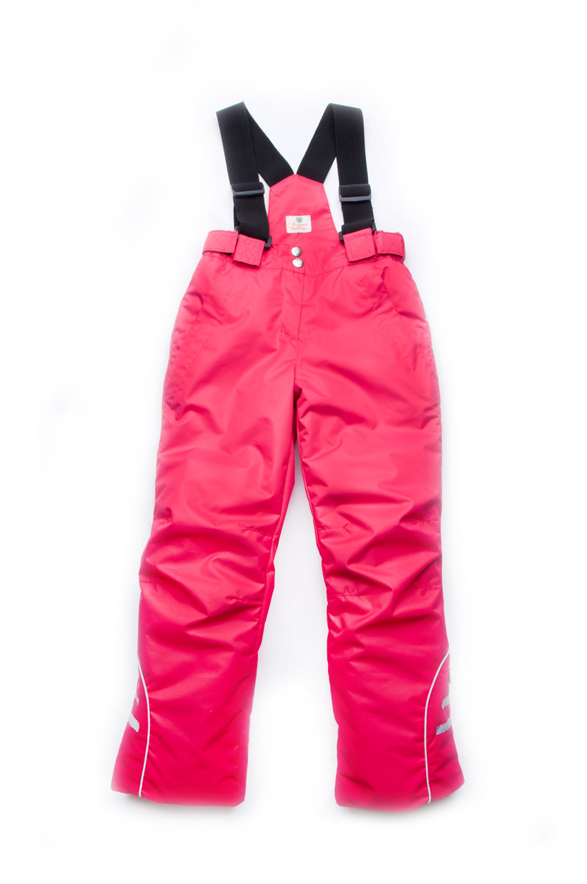 Комбинезон со шлевками для девочек для девочек от 4 до 8 лет, теплые детские брюки с бретелями