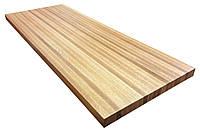 Деревянная столешница для стола в рестораны из массива