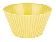 Салатник круглий BAGER 20.5 см Жовтий (BG-440 Y)