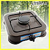 Настольный газовый таганок плита Domotec MS 6601 на 1 конфорку