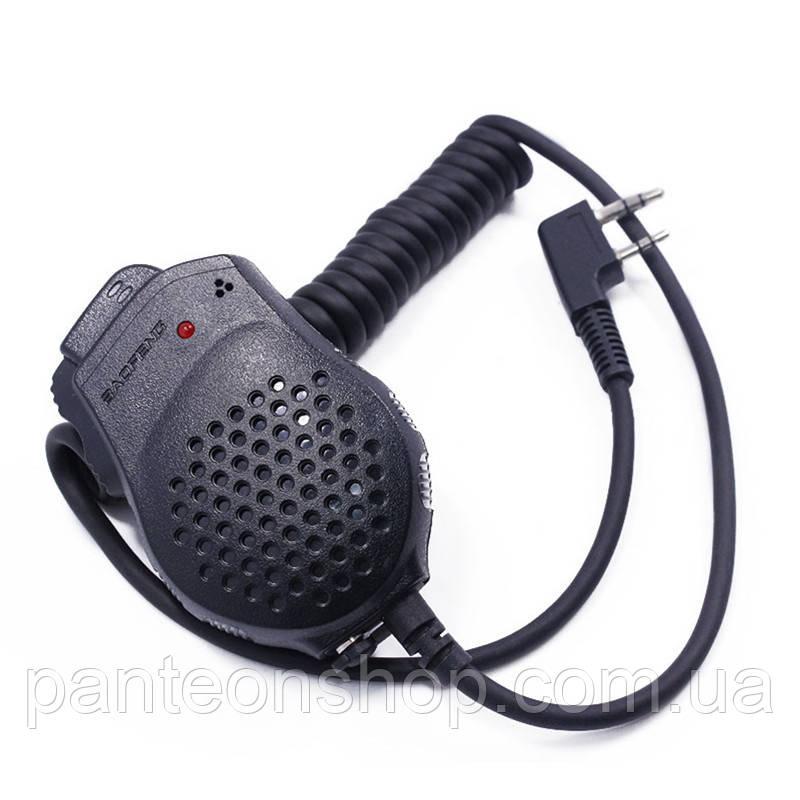 Гарнітура тангента для рацій Baofeng UV-82 Police двоканальна