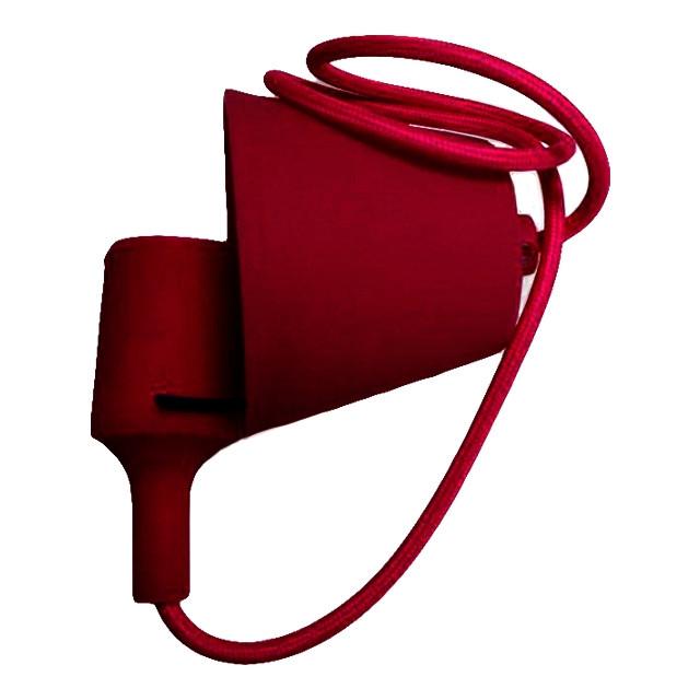 Светильник силиконовый ART-LOFT E27 красный LUMANO