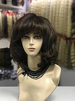 Парик из натуральных волос с челкой