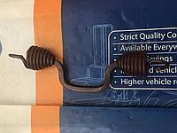 Пружина тормозной колодки большая кривая на Ашок Баз А081 Волошка
